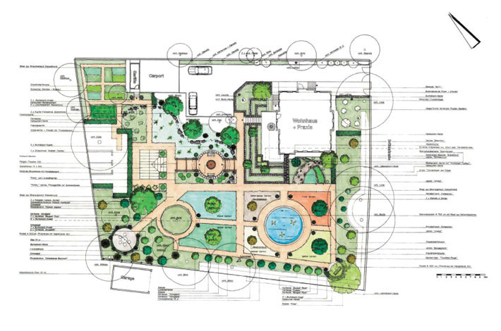 advice & planning work for garden renovation and redesign,